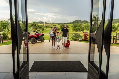 Recepção do Zagaia Eco Resort