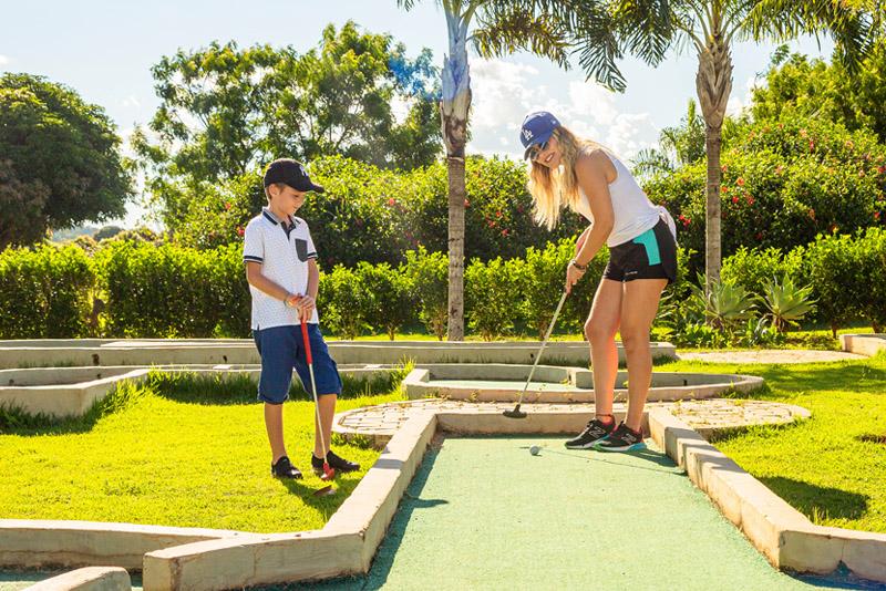 mini golf do Zagaia